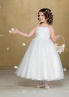 Emmerling Flower Girl Dress 91943 - Satin and tulle